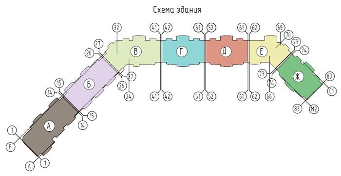 Схема дома позиция 8-9-10 в